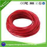 Фабрика UL подгоняет кабельную проводку электрических силиконовой резины TPE PVC XLPE 0.08mm медную гибкую изолированную/электропитания