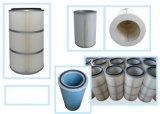 De dubbele Open en Industriële Patroon van de Filter van de Lucht van de Collector van het Stof/Cilindrische Filter