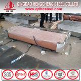 Feuille enduite de toiture de fer de zinc en aluminium ondulé