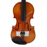 Flamme naturel artisanal de gros de violons avec accessoires de l'ébène