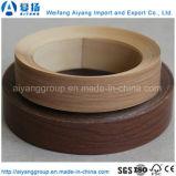 山東からの高品質の無地か木穀物PVC端Lipping