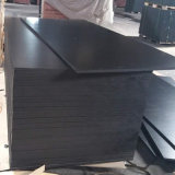 까만 필름에 의하여 직면되는 셔터를 닫는 페놀 접착제 포플라 합판 (12X1250X2500mm)