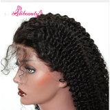 Le parrucche ricce dei capelli umani della parte anteriore del merletto per le donne di colore pre hanno colto i capelli del brasiliano di densità di 130%