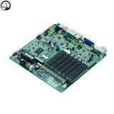 Новейшие процессоры Intel Celeron J3160 1.6GHz четырехъядерный процессор X86 вентилятора системной платы Mini ITX с одним портом Ethernet OEM/ODM