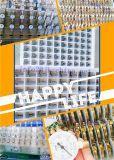 주문을 받아서 만들어진 최신 인기 상품 Yx 정규적인 탄소 검정 쉘 전기 연결 압력 계기