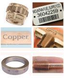 Laser tenu dans la main d'inscription en métal pour l'acier