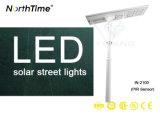 Il LED tutto compreso Bridgelux scheggia l'indicatore luminoso di via solare di illuminazione esterna