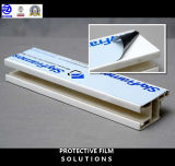 Hoge PE van de Viscositeit Beschermende Film voor de zeer Ruwe Oppervlakte van het Aluminium