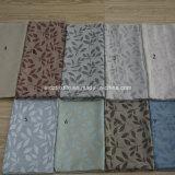 Primera Clase hilados de distintos colores Hoja jacquard cortina de la ventana