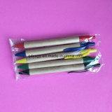 crayon lecteur de bille de point de 0.7mm avec le papier d'Eco et la matière plastique