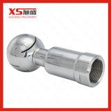 Bille de jet du réservoir CIP d'amorçage femelle d'hygiène de l'acier inoxydable Ss304