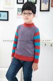 Karen Striped-Sleeve Diamond Rib en tricot couteau couture vêtements pour enfants
