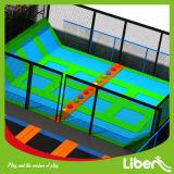 Fabricado en China en el interior de la Plaza trampolín profesional Proveedor