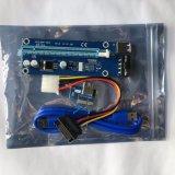 Violet Express USB PCI-E Riser avec câble d'alimentation 4 broches 006