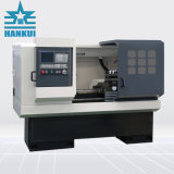 Máquina horizontal Ck6140 do torno do CNC da base lisa