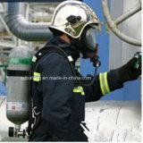 Корпус из углеродного волокна Scba воздушного баллона с кислородная маска
