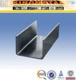 ASTM A36 Tamaño de barra de canal de U de acero suave