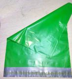 sac en plastique durable de courrier de poste d'expédition de la couleur 10*13ins verte