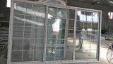 Portello scorrevole di alluminio d'apertura delle lastre di vetro di disegno 3 della griglia di standard europeo