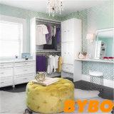 Alto guardaroba UV bianco moderno della camera da letto di lucentezza (BY-W18-33)