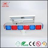 Luz movible del panel solar LED/luz solar impermeable del LED de los pilotos del tráfico de la autopista de la autopista sin peaje de la carretera estupenda solar azul roja portable del piloto