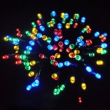 Indicatori luminosi infiammanti della stringa dell'albero di Natale degli indicatori luminosi multicolori del gruppo di terminali
