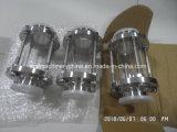 Medidas sanitarias de acero inoxidable 316L Triclamped SS304 la mirilla