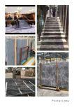 Het zilveren Marmer van de Mink van de Goede Kwaliteit van de Mink Marmeren Zilveren Marmeren Zwarte met de Witte Plak van het Project van de Bouw van de Plak van de Ader Marmeren/In het groot Marmeren