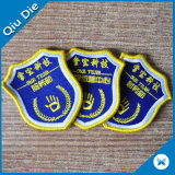 Correções de programa do logotipo/emblema tecidos vestuário personalizados do vestuário
