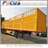 3eixos de transporte de carga a granel Caixa semi-reboque