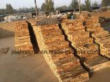 Pedra bege da cultura do preço barato de China para o revestimento da parede exterior