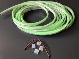 Resistente al agua IP65 LED verde tira flexible de neón luz