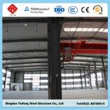 Estrutura de aço pré-fabricadas na oficina de fábrica