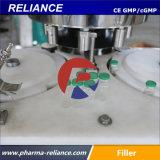 Aseptische sterile Phiole-Flüssigkeit-füllende und mit einer Kappe bedeckende Maschine