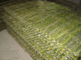 전통 중국어 인공적인 대나무 담