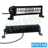 Epistar LEDs를 가진 72W 12.5inch 자동 LED 일 표시등 막대
