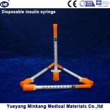 처분할 수 있는 1cc 인슐린 주사통 0.5cc 인슐린 주사통 0.3cc 인슐린 주사통 (ENK-YDS-054)