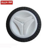 6.5X2.5golf 손수레 바퀴; 백색 스포크; 폴리우레탄 거품