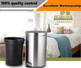 Commerce de gros de la corbeille de recyclage des ménages en acier inoxydable bin/ Garbage la Corbeille