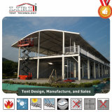Double Decker tente, des tentes à deux étages pour le Golf des événements