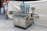 液体のための立場のタイプ自動4つのノズルの充填機