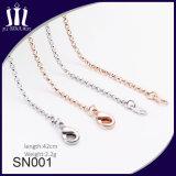 Sn001 Eco freundliche Messingkette für Schmucksache-Halskette