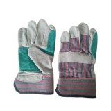 Double Palm et renforcé l'Index de cuir des gants de soudure