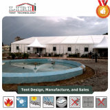Tente d'usager de tension de toit tente d'église de tentes de chapiteau de crête élevée de 40 x de 40m pour 2000 personnes