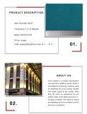 Het Synthetische Kunstleder van pvc voor Bank en auto-Zetel
