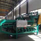 Riemen Flilter Presse-Klärschlamm-entwässerngerät für das Papiermühle-Klärschlamm-Aufbereiten