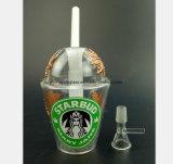 Rauch-Rohr-Glas im Stern-Cup