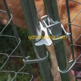 La conexión de cadena al aire libre al por mayor del fabricante encajonó perreras de la corrida del perro