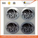 Collant transparent d'impression auto-adhésive d'étiquette estampé par papier de vinyle d'imprimante