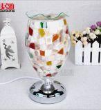 Nuovo bruciatore di incenso domestico dell'indicatore luminoso di notte della camera da letto della lampada della Tabella del mosaico della decorazione